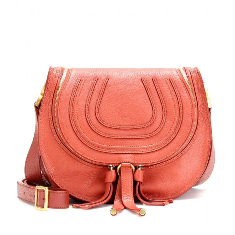 mytheresa.com - Chloé - MARCIE LEATHER MESSENGER BAG - Luxury Fashion for Women / Designer clothing, shoes, bags