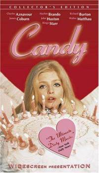 VHS: Candy (1968) (Ws) (VHS) with Ewa Aulin (actor), Marlon Brando (actor) and Christian Marquand (director)