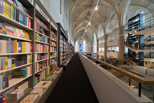 15th Century Dominican Church Repurposed as a Dazzling Bookstore | Hypebeast