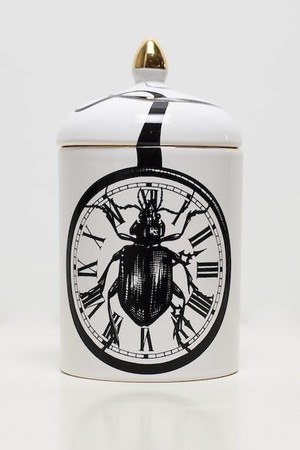 RORY DOBNER BEETLE CLOCK SCENTED CANDLE