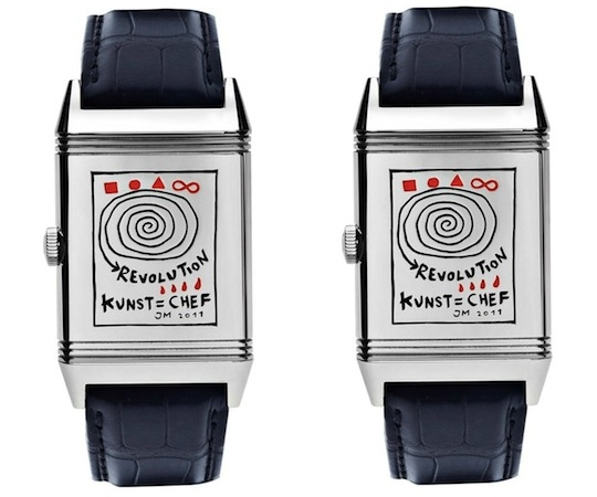 Jonathan Meese - Jaeger-LeCoultre - Reverso Watch | Selectism.com