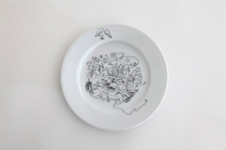 Goat&Wolf Remake tableware plate