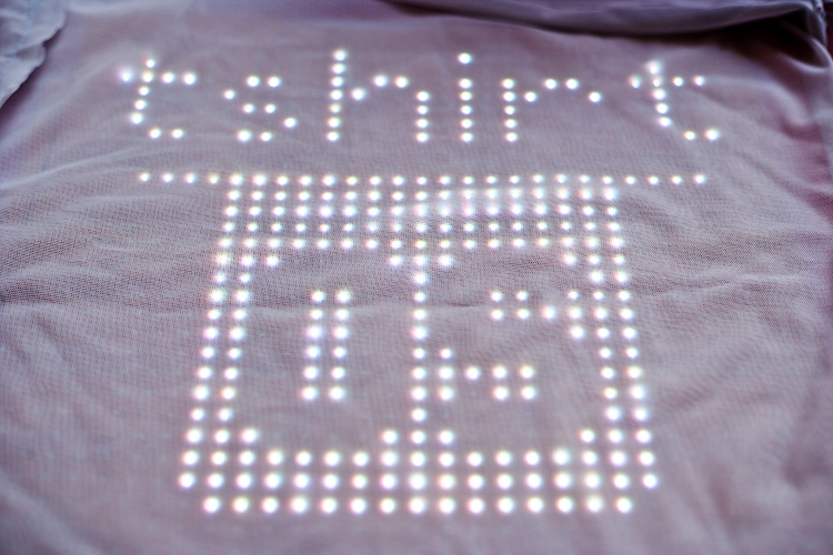 tshirtOS wearable display lets your chest do the talking |