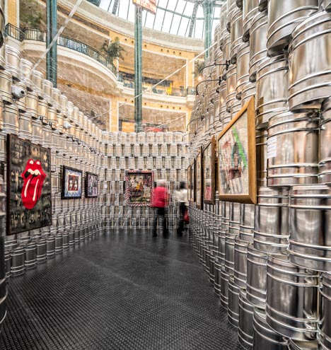 The Andy Warhol Temporary Museum by LIKEarchitects