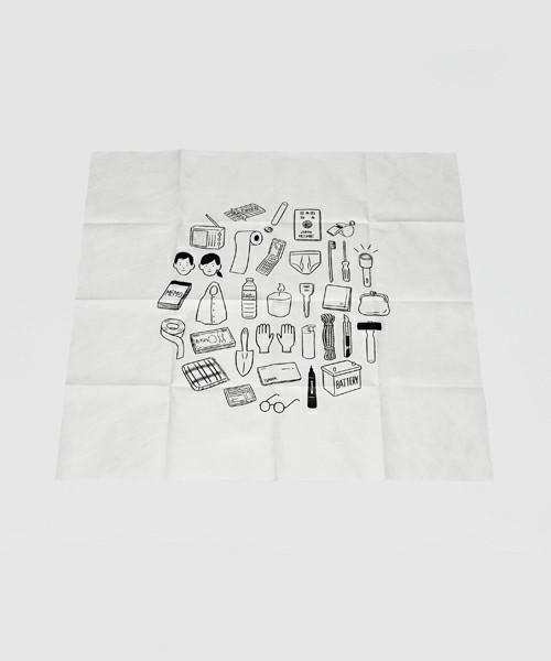 OOD (OUT OF DOOR)(オーオーディー) | 【Noritake】 MY THINGS FOR EMERGENCY(ポスター/アート) - ZOZOTOWN