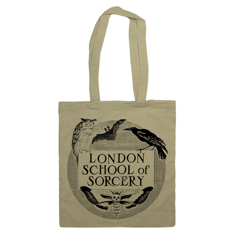 LONDON SORCERY natural tote bag / The Orphan's Arms