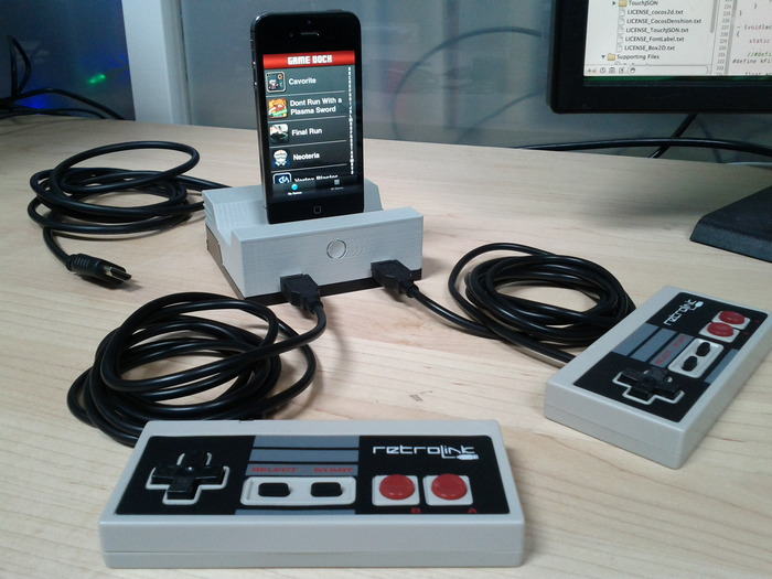 GameDock for iPhone, iPad, and iPod Devices by Cascadia Games LLC — Kickstarter