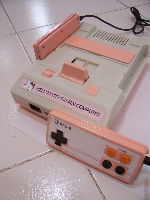 Hello Kitty Famicom | Flickr - Photo Sharing!