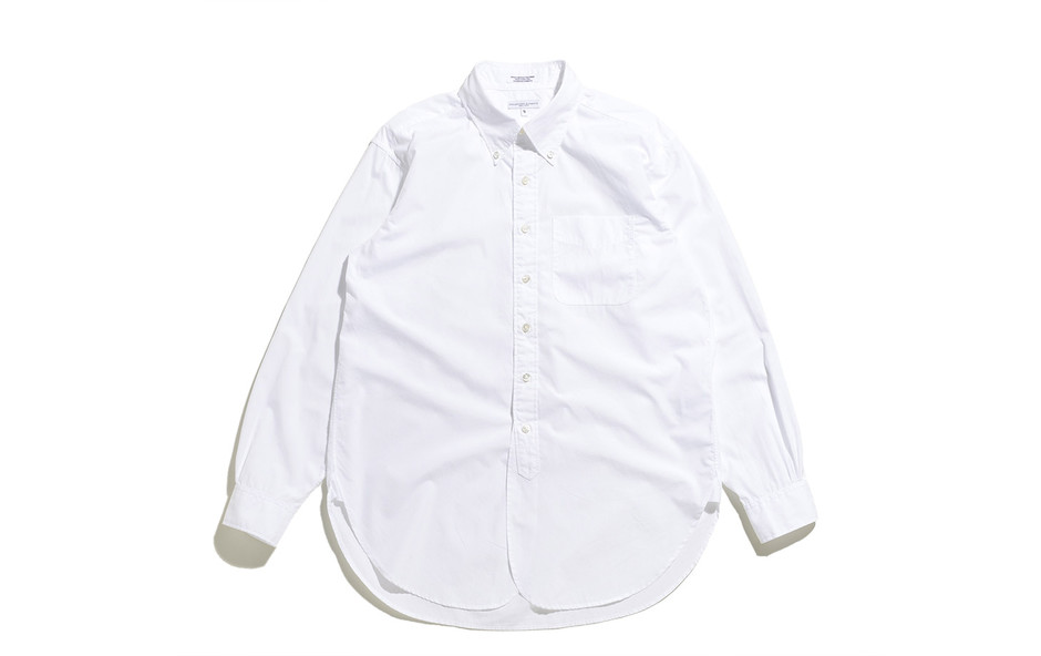 19 Century BD Shirt-100's 2ply Broadcloth-White
