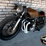CB550Four mix of cafe and bratstyle / Cars & Motorcycles / Trendy Pics