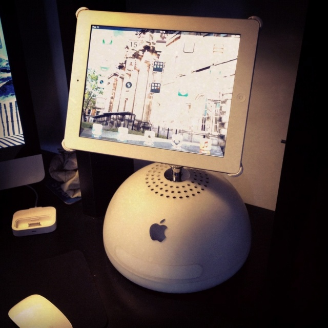 This Sweet iPad Stand Will Make You Wish You'd Never Thrown Out That Old G4 | Cult of Mac