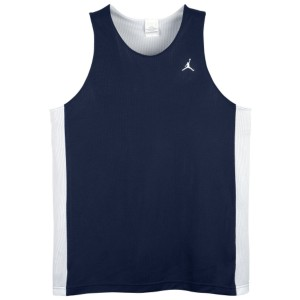 Jordan Team Reversible Tank - Men's - Sport Inspired - Clothing - White/Matte Silver