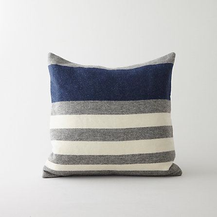 Faribault Woolen Company x SA Striped Pillow | Home | Steven Alan