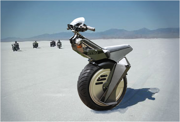 RYNO Motors - Micro-Cycle Single Wheeled Personal Transport | FreshnessMag.com
