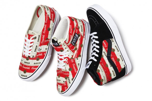 Supreme x Vans Campbell's Soup Collection | Hypebeast