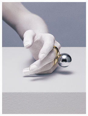 Bling/Jewelry. Supersize Me! Maison Martin Margiela Debuts Jewelry Collection   Second City Style
