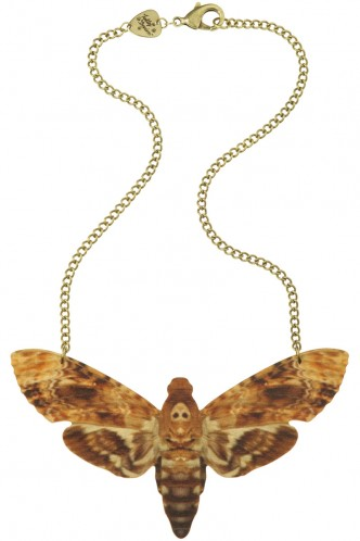 Hawk Moth Large Necklace - brown - New in - Featured - Shop