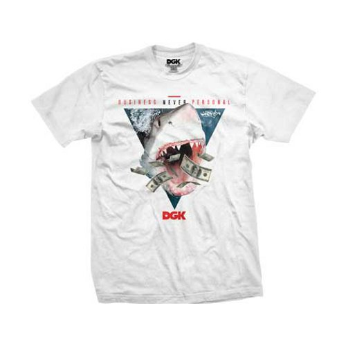 DGK - NEVER PERSONAL (White) - Growth skateboard elements