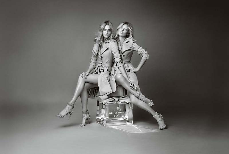Burberry My Burberry Eau de Parfum AD Campaign feat. Kate Moss and Cara Delevingne – NAWO