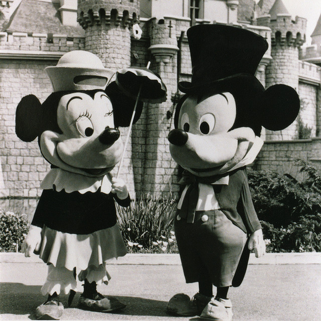 Mickey and Minnie Mouse 1961 | Flickr - Photo Sharing!