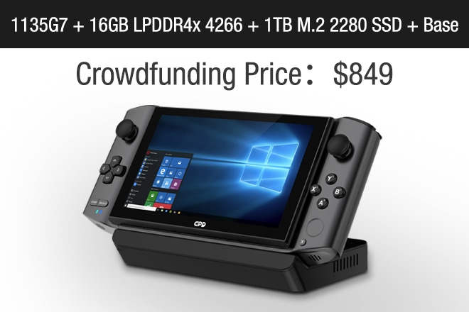 GPD WIN3:The world's 1st handheld AAA game console | Indiegogo