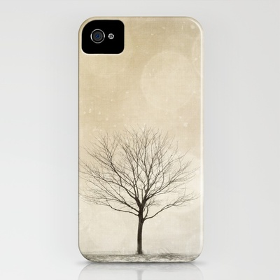 Snow Bokeh Wonderland iPhone Case by Laura Ruth | Society6