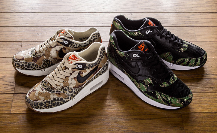 """NIKE AIR MAX 1 """"atmos"""" """"Camouflage Collection"""" - sneaker resource"""