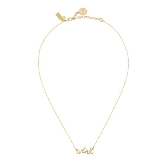 kate spade | necklaces for women - say yes wink necklace