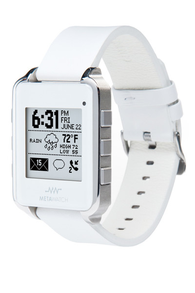 FRAME - White (leather) – MetaWatch