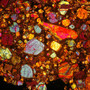 Meteorite thin sections - a set on Flickr