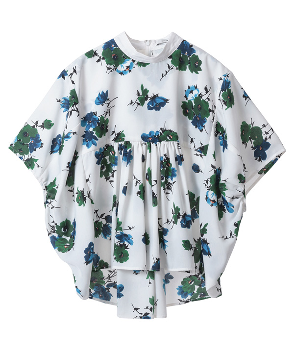 CLASSIC FLOWER BALLOON TOPSCLANE|CLANE OFFICIAL ONLINE STORE