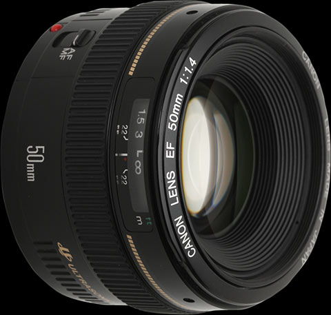 Canon EF 50mm F1.4 USM Lens Review: 1. Introduction: Digital Photography Review