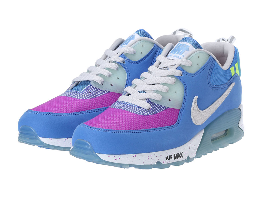 UNDEFEATED × NIKE AIR MAX 90 - BLUE/PURPLE |Nike|アンディフィーテッド公式通販サイト | UNDEFEATED.JP