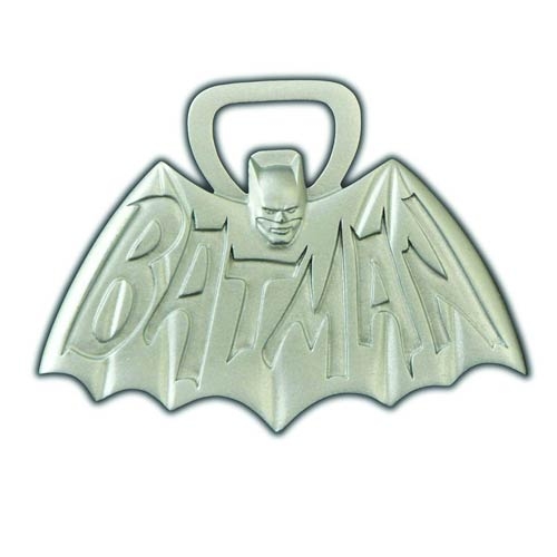 Batman Classic 1966 TV Series Logo Bottle Opener - Diamond Select - Batman - Barware at Entertainment Earth