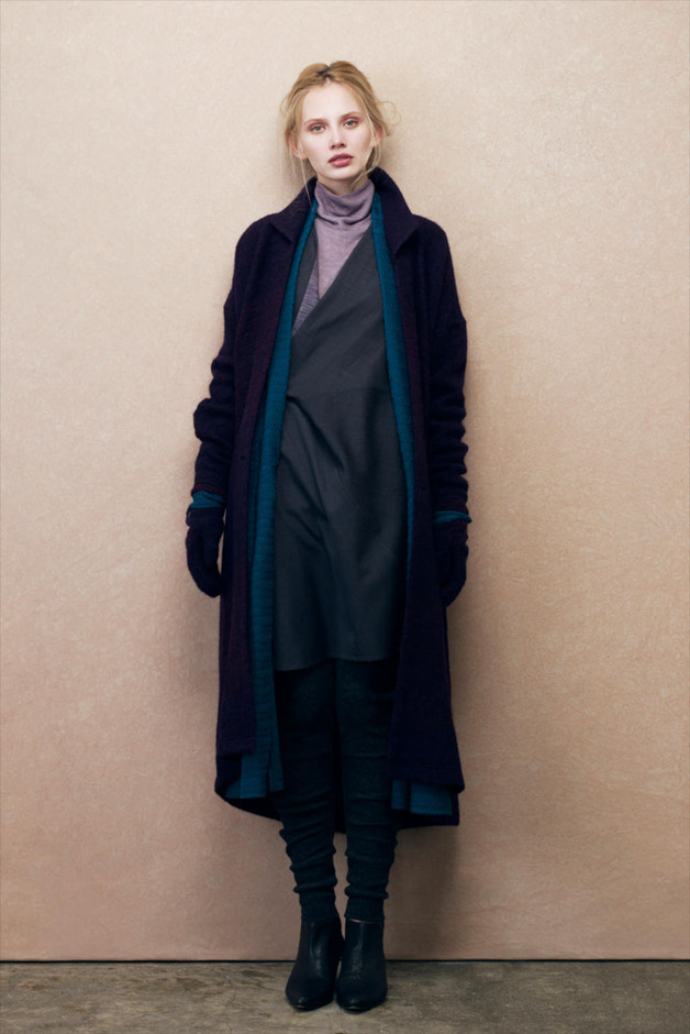 matohu 2011-2012 autumn & winter collection look | coromo