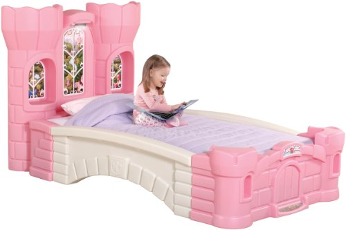 Amazon.com: Step2 Princess Palace Twin Bed: Toys & Games