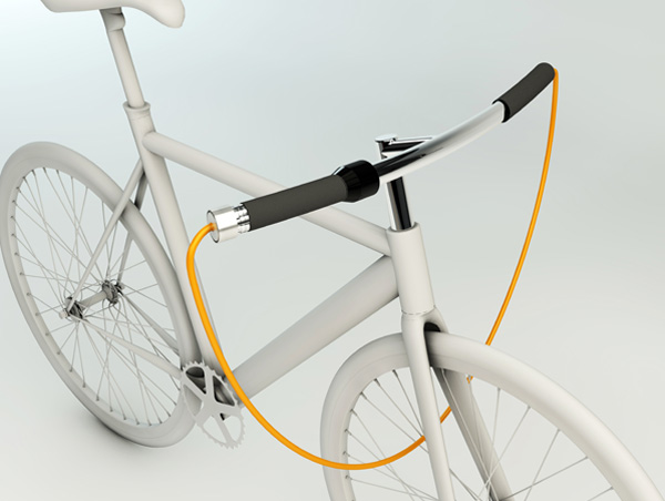 B.Y Handle Lock - Bicycle Lock by Dong Young Seo, Ho Sun Kim & Yea Jin Kang » Yanko Design