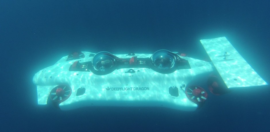 Dragon - DeepFlight - Advanced Personal Submarines and Undersea Technology