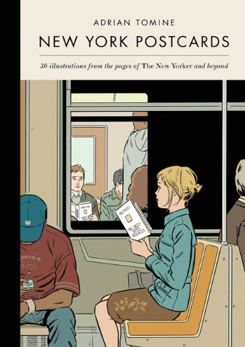 Amazon.co.jp: New York Postcards: 30 Illustrations from the Pages of the New Yorker and Beyond (Postcard Book): Adrian Tomine