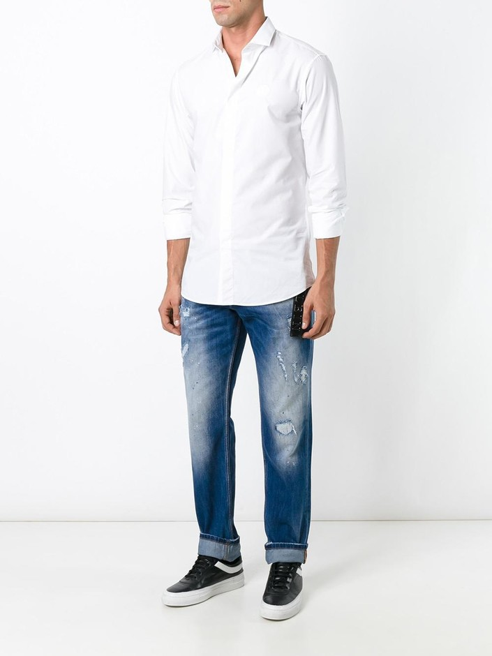 Philipp Plein Classic Shirt - First Boutique - Farfetch.com