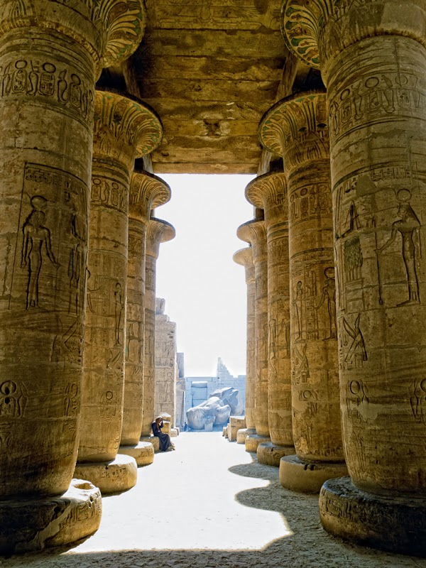 The Temple of Luxor, Egypt | Polo Pixel