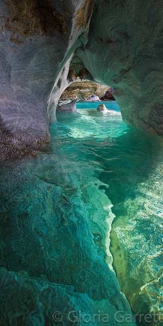 HAPPY | Place / Marble Cathedral, Patagonia, Chile
