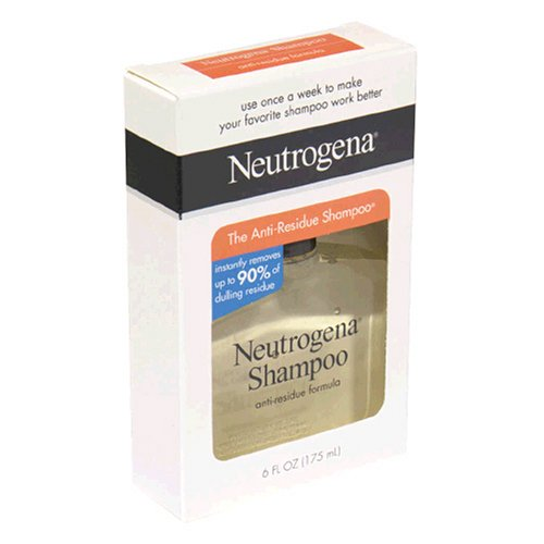 Amazon.com: Neutrogena Shampoo, Anti-Residue Formula, 6 Ounce: Beauty
