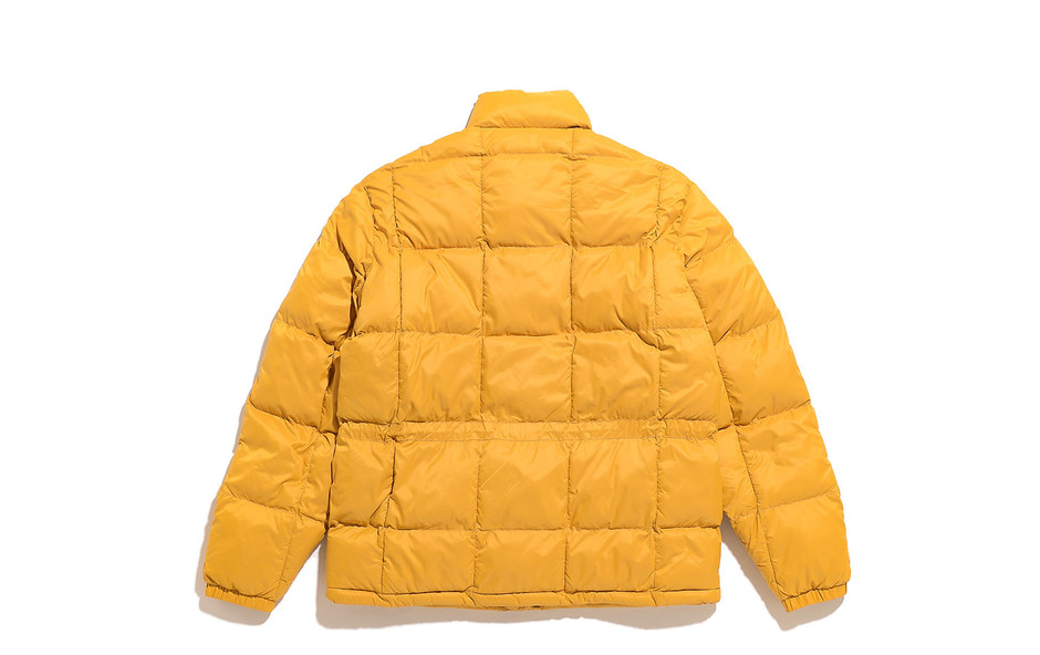 Quilted Jacket-Yellow Gold