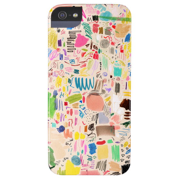 Mia Chris Scribble iPhone 5 Case by Giant Sparrows | Fab.com
