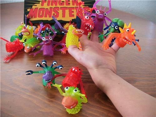 Finger Monsters - Accoutrements