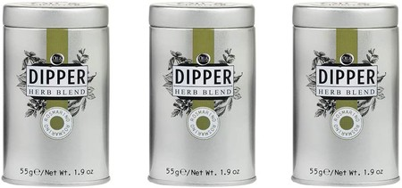 OIL & VINEGAR Dipper Herb & Spice Blend, 1.9 oz. Tin Cans (3 Packs) (Rosemary)