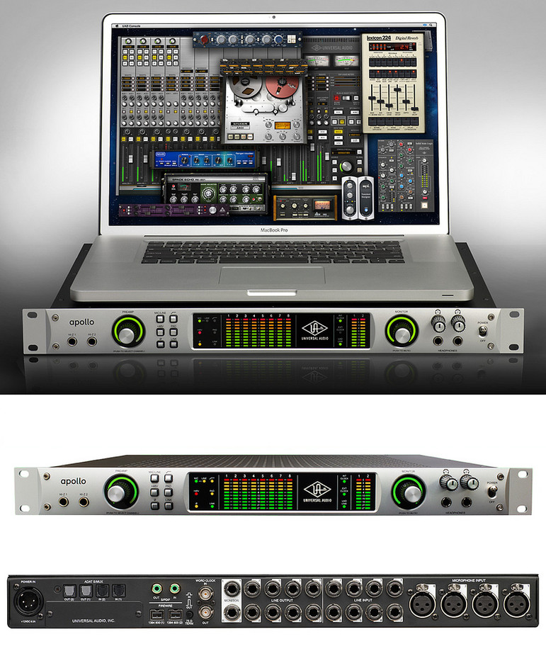 All sizes | Universal Audio 'Apollo' High-Resolution Firewire and Thunderbolt Interface with Realtime UAD Processing | Flickr - Photo Sharing!