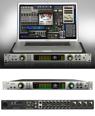 'Apollo'  High-Resolution Firewire and Thunderbolt Interface with Realtime UAD Processing