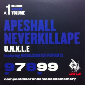 UNKLE / APE SHALL NEVER KILL APE TOYS FACTORY 12inch Vinyl record 中古レコード通販
